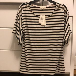 NWT Retrology Striped Top